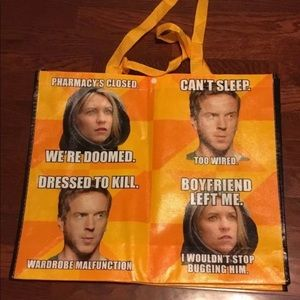 SDCC Comic-Con 2012 Homeland meme promo tote Bag